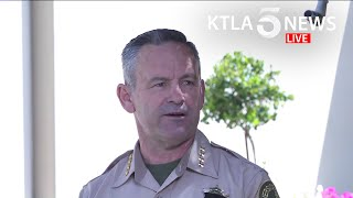 Coronavirus: Riverside County Sheriff provides update on deputies who died of COVID-19