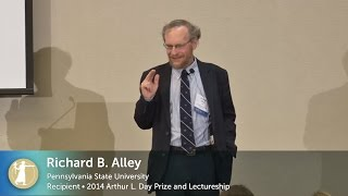 NAS Day Prize Lecture with Richard Alley at Kent State University