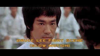 Bruce Lee Fight Scene Slow Motion