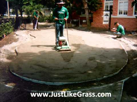 Golf Artificial Grass Putting Green Installation in Tampa, Florida