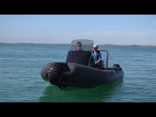 Boat Review - Sealegs Electric E4 with John Eichelsheim