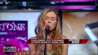 """Joss Stone - """"The High Road"""" live at """"Imus in The Morning"""" on August 2nd, 2012"""