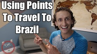 Fly To Brazil Cheap Using Membership Rewards | Award Travel Demonstration