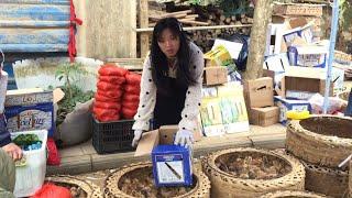 Đi Chợ Biên Giới Việt - Trung, Gặp Bạn Gái Tàu Bán Gà Cực Xinh || TVN Lai Châu