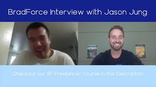 BradForce Interview with special guest Jason Jung | Landing Your First Salesforce Job