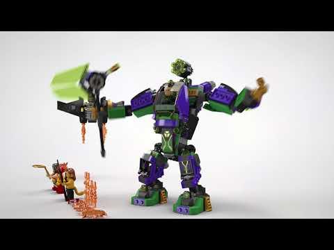 Vidéo LEGO DC Comics Super Heroes 76097 : L'attaque en armure de Lex Luthor
