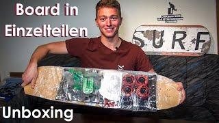 Komplett-LONGBOARD in Einzelteilen: Unboxing - PRISM Theory, Bolzen Trucks V2 | Longboarding Germany