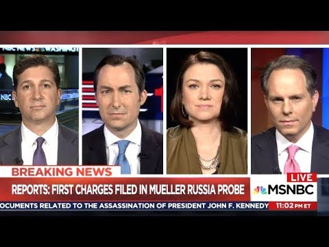 BREAKING NEWS: First Charges Filed In Mueller Russia Probe (MSNBC)