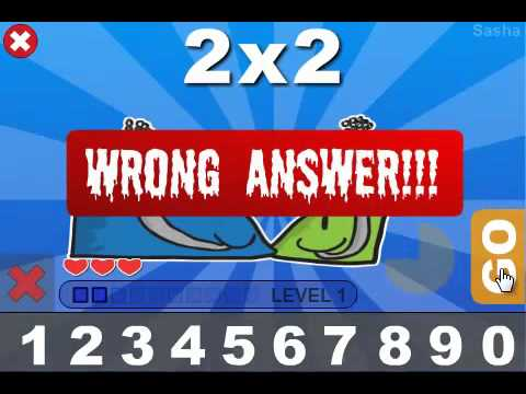 Video of Brainy Monsters Times Tables