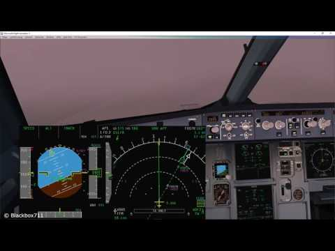 FSLabs A320-X Basics: Non-Precision Approach using TRK/FPA