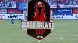 Highlights Persib Bandung Vs Arema Cronus 01 Bali Island Cup 23 Februari 2016