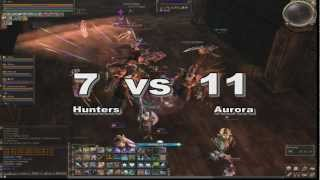 Hunters (BasicSQ) vs Aurora, Lineage II EU core