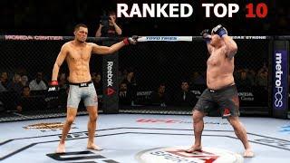ИГРЫ В ТОП 30 МИРОВОГО РЕЙТИНГА UFC 3