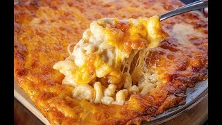 THE CHEESIEST BAKED MAC AND CHEESE EVER! | 5 CHEESE MAC AND CHEESE NO ROUX NO EGGS!