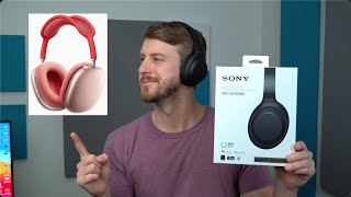 Sony XM4 Unboxing! - The Best AirPods Max Alternative?