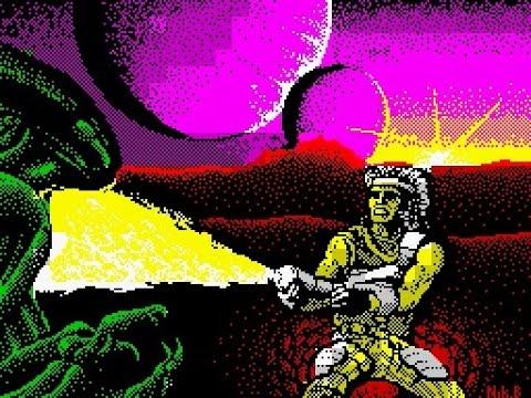 ZX Spectrum Longplay [094] Trantor: The Last Stormtrooper