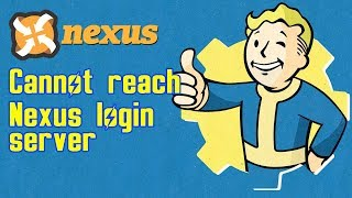Решение ошибки Cannot reach the Nexus login server