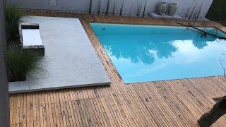 🏊 Building Vinyl Liner Swimming Pool | DIY | Intex | How to build your own swimming pool