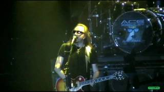 ACE FREHLEY - Pain In The Neck / Nokia Center, New York City, 03/21/2010.