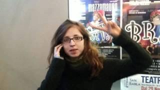 Dietro Le Quinte 26 Dic 2011 Diesis & Bemolli Gospel Choir Al Teatro San Babila In Milano