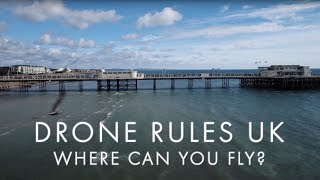 Drone rules UK 2018: where can you fly