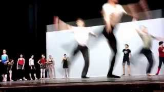 preview picture of video 'Bayerisches Staatsballett - Proben im Theater Erlangen'