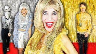 Giant GOLD VS SILVER Fashion Show at Home to Reveal $10,000 Winner - Rebecca Zamolo