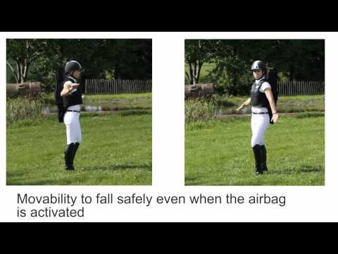 Airbag per cavallo dimostrazione pratica - EQUIAIRBAG.mp4