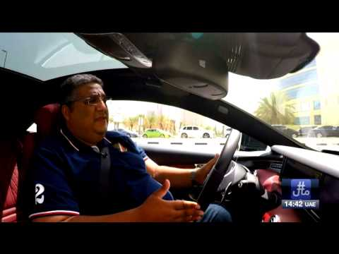 Report about Mercedes Benz S63 Coupe AMG in #Mal Dubai TV