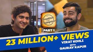 Virat Kohli On His Diet, Cheat Meals, And Dhoni I BwC S4E1 | Part 1