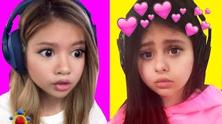 Baby Azzyland Calls Her Crush ! • NEW Snapchat Filters
