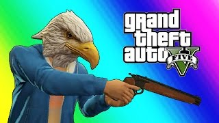 GTA 5 Online - Every Bullet Counts! (Funny Moments)