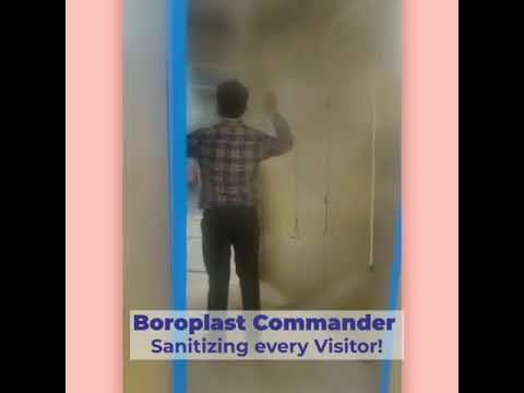 Boroplast Commander Disinfectant Tunnel