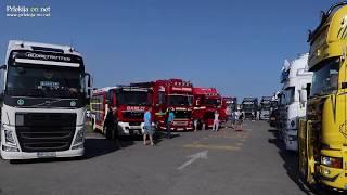 Šoferski pozdrav na 8. Truck show mitingu