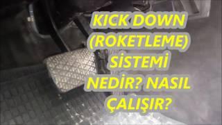 KICK DOWN (ROKETLEME SİSTEMİ) E 200