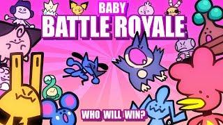 Baby Pokemon Battle Royale ANIMATED (Loud Sound Warning) 🤛👶🤜 Collab With @Lockstin & Gnoggin