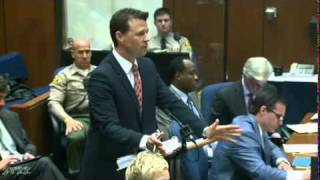 Conrad Murray Trial   Day 10, Part 3