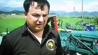 S traktorji od Cortine d' Ampezo do SLO