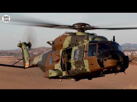 Así es el NH90, presente y futuro de las Fuerzas Armadas españolas