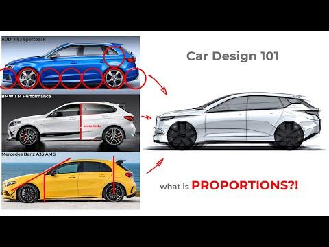 CAR DESIGN 101 - what is PROPORTIONS?! - Hatchback