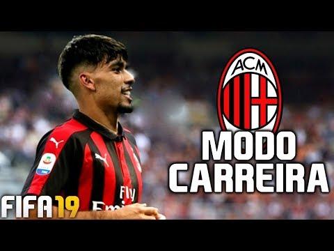 RECONSTRUINDO O MILAN! - MODO CARREIRA #01   FIFA 19
