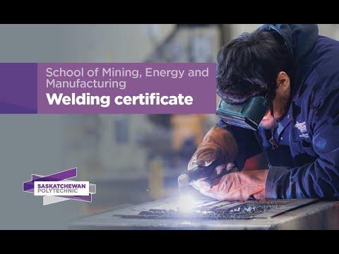 Welding Certificate program