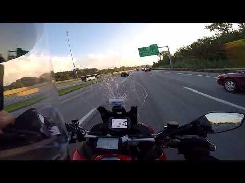 Ducati Multistrada 1200 S commute home (no commentary)