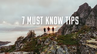 TOP 7 TIPS TO MAKE CINEMATIC TRAVEL VIDEOS