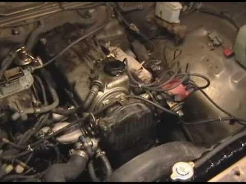 Mazda B2200 timing belt change