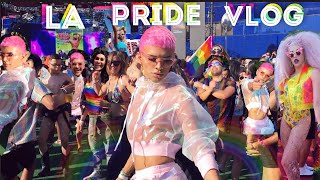Come to LA PRIDE with Me VLOG | Gabriel Zamora