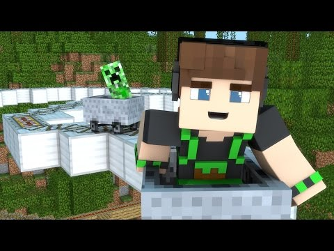 Minecraft: MONTANHA RUSSA DO CREEPER !! « MAPA INCRIVEL »