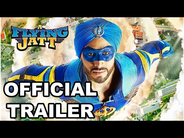 A Flying Jatt Official Trailer | Hindi Movie Trailers 2016 | Jacqueline Fernandez