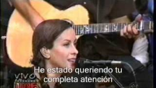 Alanis Morissette - Front Row (subtitulado)