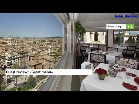 Hassler Roma ***** Hotel Review 2017 HD, Spagna, Italy